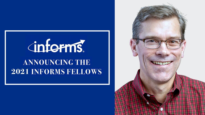 Russell Allgor named INFORMS Fellow