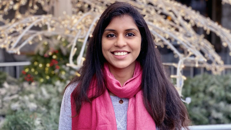 A headshot of Sneha Rajana