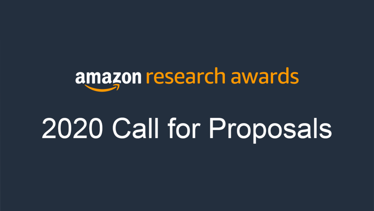 Amazon Research Awards ARA 2020 Call for Proposals.png