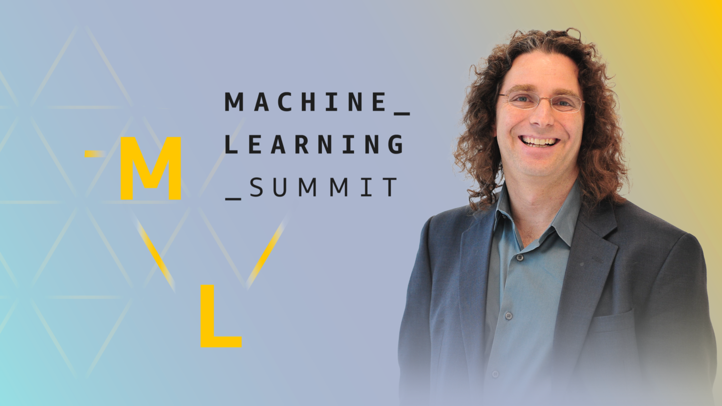 Philip Resnik, speaker at the ML Summit and a professor at the University of Maryland in the Department of Linguistics and at the Institute for Advanced Computer Studies
