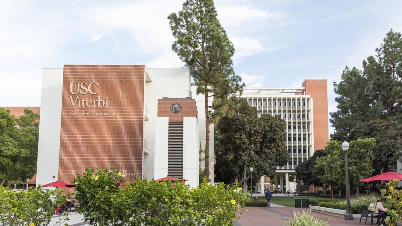 Exterior of USC Viterbi School of Engineering