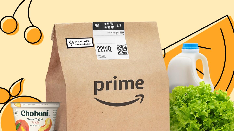 Amazon Fresh Prime bag