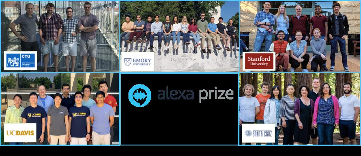 Amazon Alexa Prize Finalists 2020