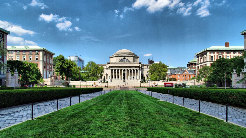 Columbia campus shot